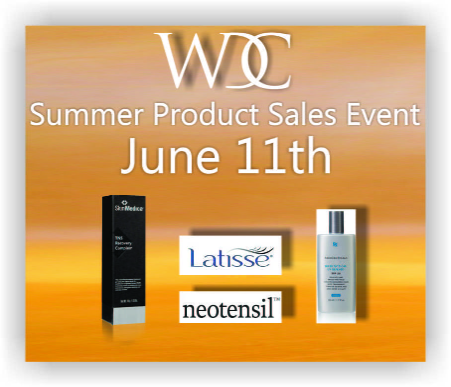 Summer Cosmetic Product Sales Event - June 11th