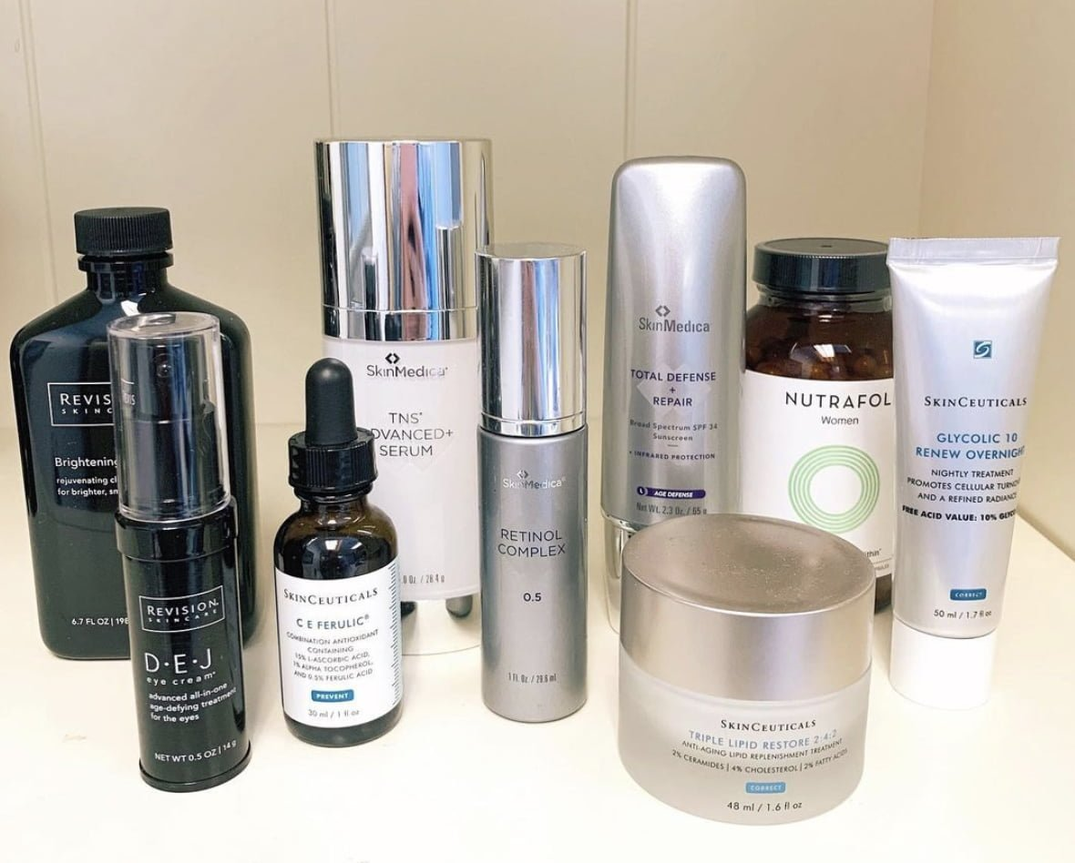 Dermatology Products at Wilmington Dermatology Center